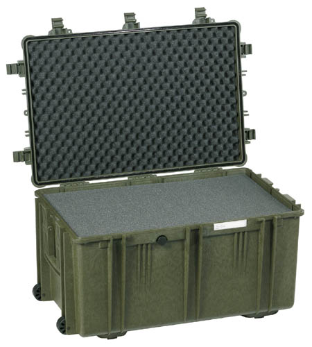 Explorer 7641 case, groen