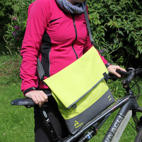 Aquapac Trailproof Tote bag, large, lime