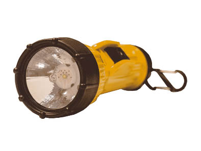 Bright Star 2618HD LED zaklamp, geel