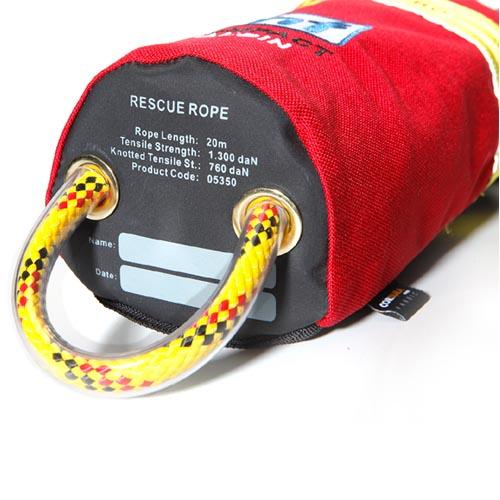 hf Compact Alpin werpzak, rescue pro, rood, 20 meter