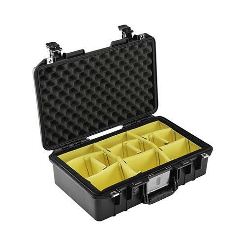 Peli case 1485 Air, zwart, met divider set