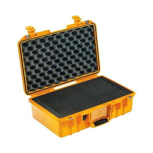 Peli case 1485 Air, geel, met foam