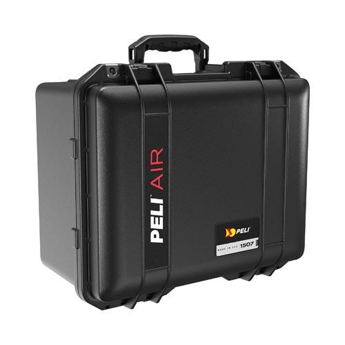 Peli case 1507 Air, zwart, met  foam