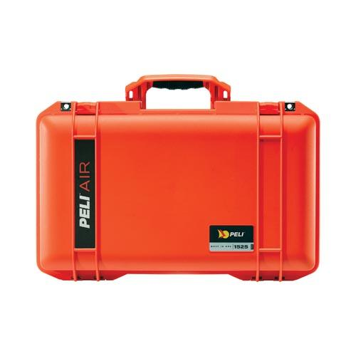 Peli case 1525 Air, oranje, met foam