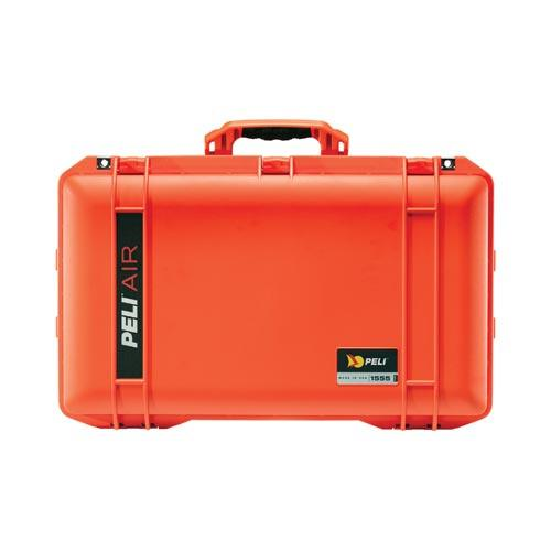 Peli case 1555 Air, oranje, met foam