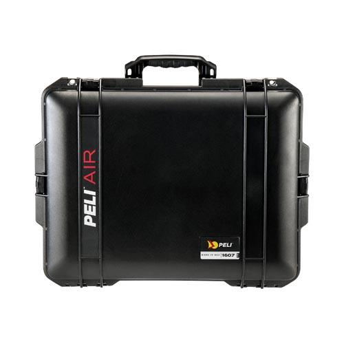 Peli case 1607 Air, zwart, met divider set